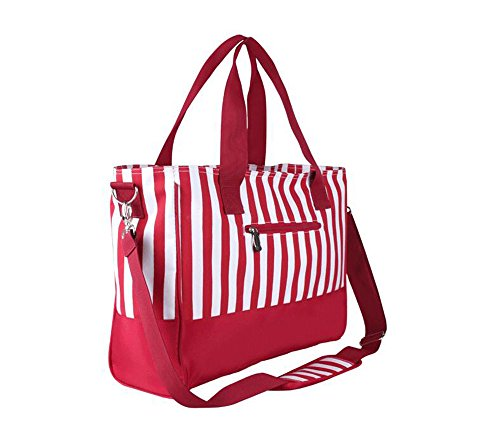 Anne, Borsa a mano donna rosso Pink Red