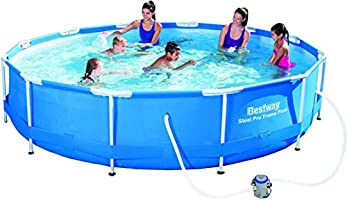 Bestway Frame Pool Steel Pro Set, blau, 366 x 76 cm