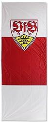Hissflagge VfB Stuttgart Wappen - 150 x 400 cm + gratis Aufkleber, Flaggenfritze®
