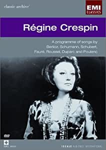 Regine Crespin Sings Berlioz, Schumann, Schubert, and Poulenc [Import USA Zone 1]