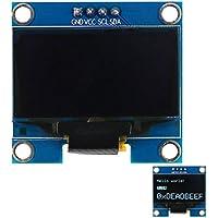 Morza 1.3 '' 128 * 64 luz Blanca I2C Pantalla OLED módulo de Pantalla para Arduino