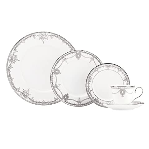 Lenox Marchesa Couture 5-Piece Place Setting, Empire Pearl