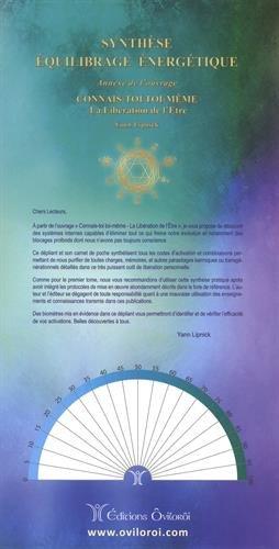 Synthèse équilibrage énergétique : Annexe de l'ouvrage Connais-toi toi-même, la libération de l'être. Avec 2 dépliants et 1 carnet