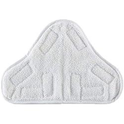 LAYEN lmq1030a Lot de 6lingettes microfibres lavables pour nettoyeur vapeur
