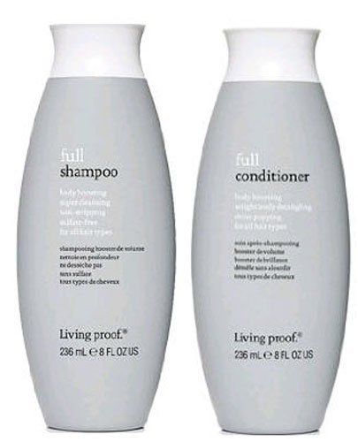 Living Proof, Full Conditioner and Full Shampoo, Two Bottle Set, 8 Oz Each by Living Proof -