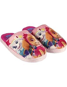 Disney - Zapatillas de Estar Por casa de Material Sintético para Niña Morado Violeta