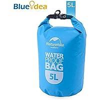 Blueidea® Borsa Sport Outdoor Portatile Impermeabile Borsa da Viaggio Per la Nautica, Kayak, Escursioni, Snowboarding, Camping, Rafting, Pesca, Canoa (Blu, 5L)