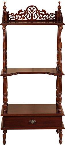 Etagere-in-legno-massello-di-mogano-finitura-noce-65x41x150-cm