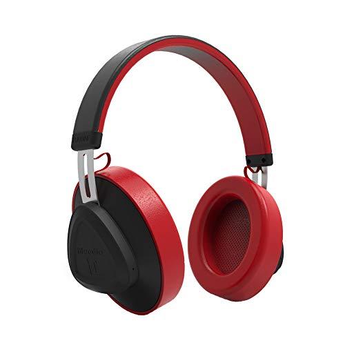 B5645ells Headphones TM 5.0 Bluetooth-Headset Stereo-Sound Drahtloser Musik-Player - Rot