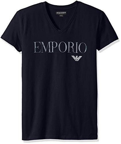 Emporio Armani T-Shirt MäNner Kurze ÄRmel V-Ausschnitt Artikel 110810 7P516