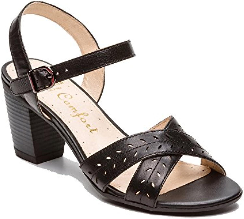 ZLXING - Sandalias de Vestir de Sintético para Mujer -