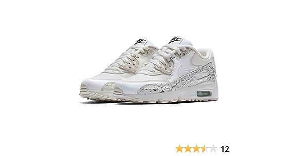 air max 90 bianche e argento