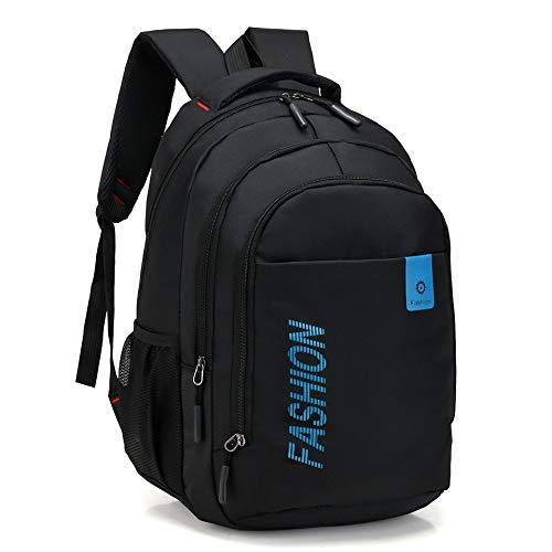 MEOBHI SchultascheHochwertige Mode Rucksäcke Für Teenager Mädchen JungenSchulrucksackKinder Baby Tasche Polyester Schultaschen, blau