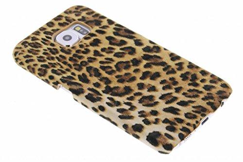 hCase Samsung Galaxy S6 Hülle - Leopard, Wildkatze, Tiermuster - Hard Case Handyhülle
