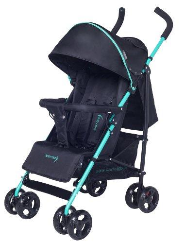 knorr-baby 848001 Buggy Styler mit Schlummerverdeck, schwarz-grün