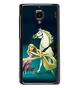 printtech Disney Girls Back Case Cover for Xiaomi Redmi 1S , Xiaomi Redmi (1st Gen)
