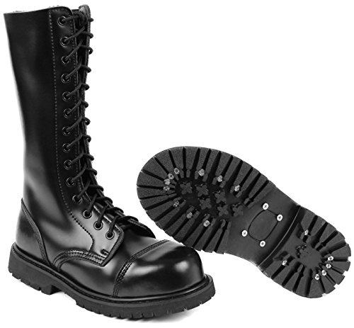 14 Holes UK Gothic Boots Combat Boots