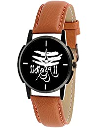 Scarter Mahadev Black Dial Analog Watch For Boys And Men-MH-Black-9