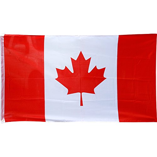 TRIXES Große Kanadische Flagge 5ft x 3ft Kanada Flagge (Sport Themen Kostüm)
