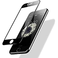 POSUGEAR iPhone 7/8 Vetro Temperato, Pellicola Protettiva Compatibile per iPhone 7/8,3D Full Coverage, 9H Durezza Scratch Resistente - Nero