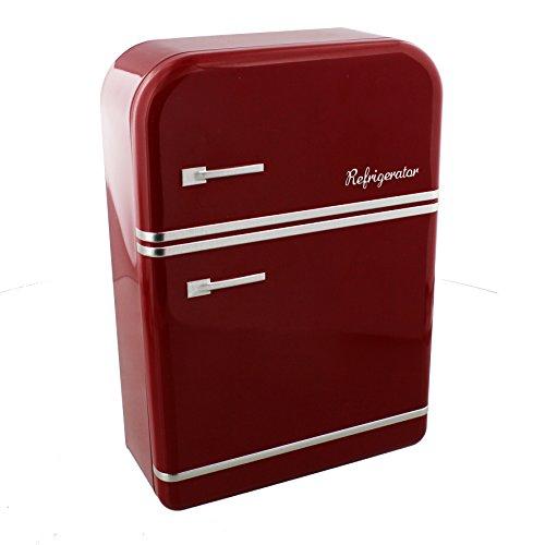 Harvey hacer caja de Metal de - rojo de la vendimia refrigerador