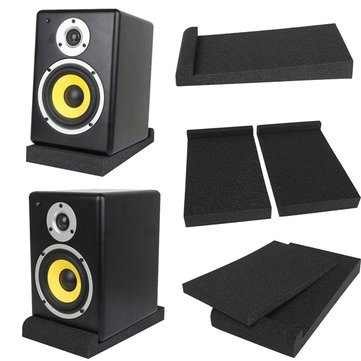 2Pcs-Sponge-Shockproof-Pad-for-5-Monitors-Foam-Speaker-Isolation-Studio