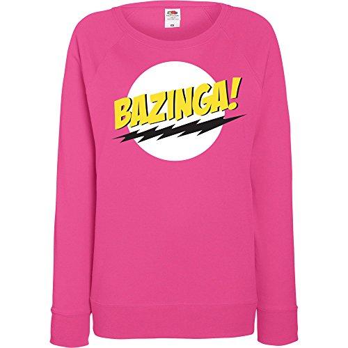 r Sweater Modell Bazinga, Grau, M (Hulk Hoodie)