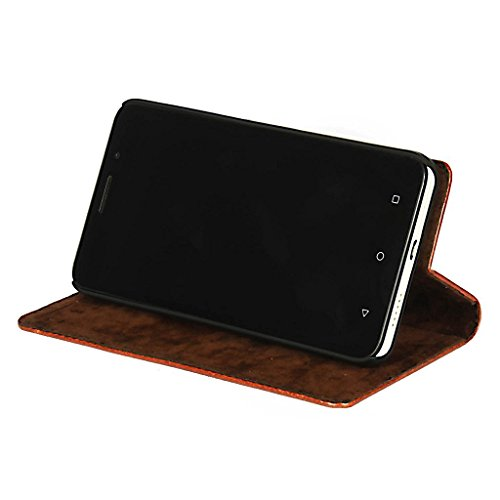 DING DONG PU Leather Flip Cover For Gionee S6 Pro