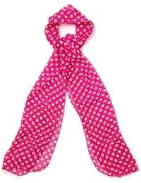 Echarpe foulard étole en mousseline - Point polka - Très agréable à porter et très douce