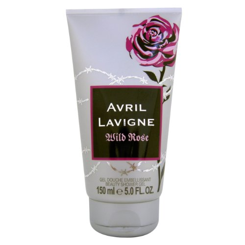 Le donne Avril Lavigne Wild Rose Shower Gel 150 ml, 1 pacchetto (1 x 150 ml)