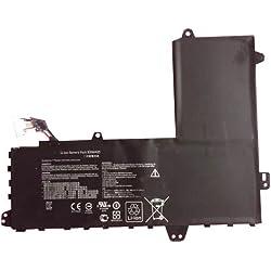amsahr B31N1425-02 Ersatz Batterie für Asus B31N1425/ EeeBook E402MA/ WX0018H/ WX0001H/ WX0002T schwarz