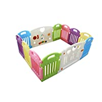 Kids playpen Plastic - Multi Color