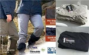 Mesdames Petit Pantalon de marche travail extérieur Thinsulate doublure thermique Gris pour Femme Taille 8/10