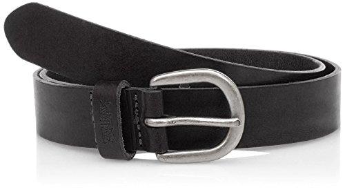 Levi's Damen Classic Icon Belt Gürtel, Schwarz (Black), 90 cm (Herstellergröße: 90) Icon Black Belt