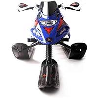 YTBLF Trineo Infantil con Frenos De Seguridad con Remolques Retráctiles Automáticos Motonieves Motos De Nieve para Padres E Hijos
