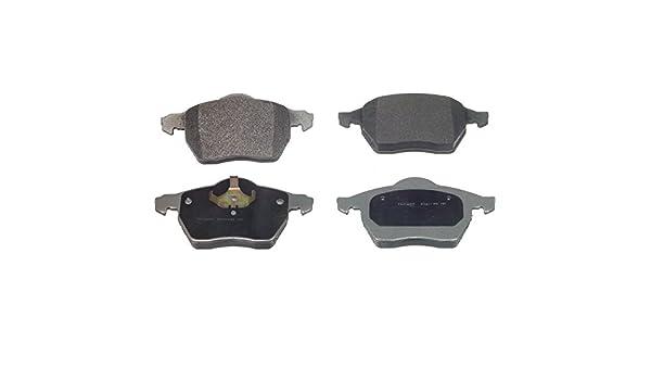 Blue Hose /& Stainless Banjos Pro Braking PBF7699-BLU-SIL Front Braided Brake Line