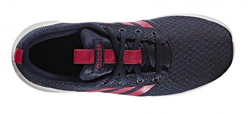 adidas Swifty K, Chaussures de Tennis Mixte Enfant, Collegiate Navy/Bold Pink/Ftwr White Bleu (Maruni/rosfue/ftwbla)