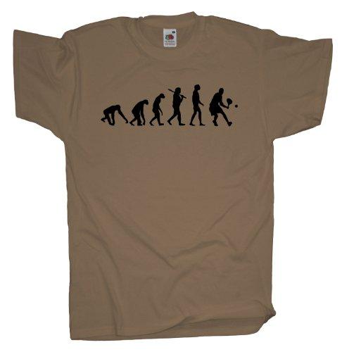 Ma2ca - Evolution - Tennisspieler T-Shirt Khaki
