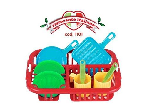 Unbekannt Faro Ristorante Italiano Spielzeug Abtropffläche Big Daddy Hut