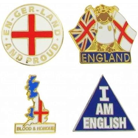 Pin Badges patriottica dell'Inghilterra