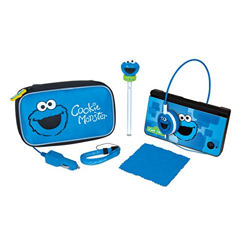 DS, DSi, DSi XL Sesame Street Cookie Monster Travel (Kit Monster Cookie)
