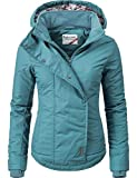 Sublevel Damen Winterjacke Outdoorjacke 46550D Petrol Gr. L