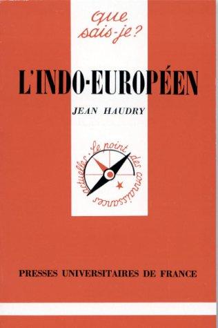 L'indo-européen