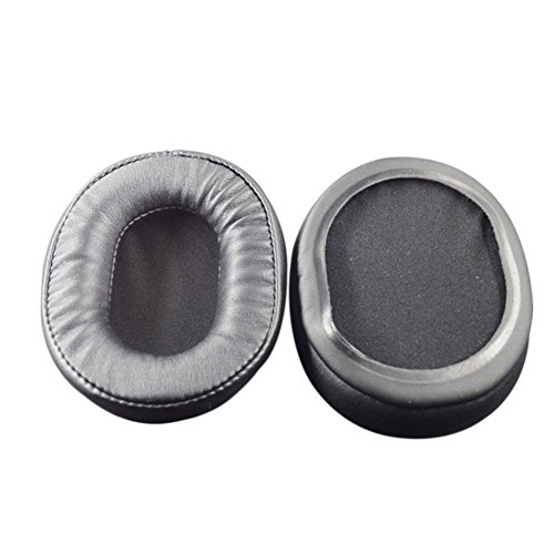Hzjundasi Ersatz Schwamm Ohrpolster Ohrenschützer Ohrpolster Cup Kissenbezug Kissen Für Audio-Technica SX1 / PRO5 / M10 / M40FS / M50S / Sony MDR-7506 / Ultrasone PRO-900 Kopfhörer 1 Comfort Fit Headset