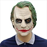 XRFHZT Halloween Batman Clown Lattice Copricapo Dark Knight Maske