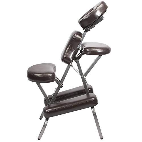 Massagestuhl Gesundheitsstuhl Klappbarer Tätowierstuhl Tragbarer Massagestuhl Schaben Tätowierstuhl Zurücksenden Tasche. -