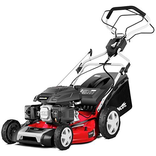 Greencut GLM880SX Cortacesped autopropulsado 50,4cm Motor 218cc 7.5cv Recogida 4-1, Rojo