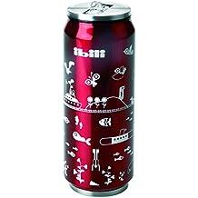 Ibili 796905lata isotérmica Eco acero inoxidable rojo 500ml 7x 7x 20cm
