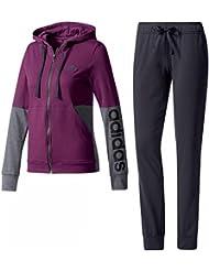 adidas BS2606 - Chándal para mujer, color Multicolor (Rojnoc/Negro), talla M