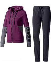 adidas BS2606 - Chándal para mujer, color Multicolor (Rojnoc/Negro), talla XLL